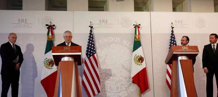 México dice que Plan Mérida está en fase terminal y no será motivo de presión