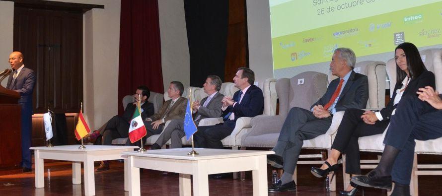 Larraga recordó que España es el segundo país inversor en México después de EE.UU. durante la...