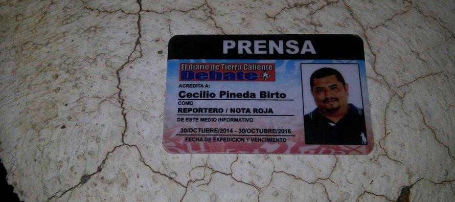 En los últimos meses Pineda había criticado al diputado local Saúl Beltrán Orozco, del...