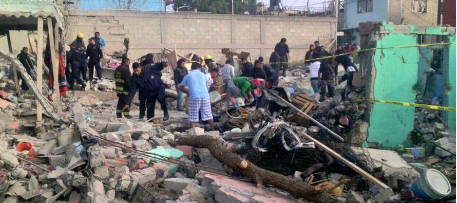 El Ayuntamiento de Tultepec detalló que en el incidente, que tuvo lugar sobre las 7.45 hora...