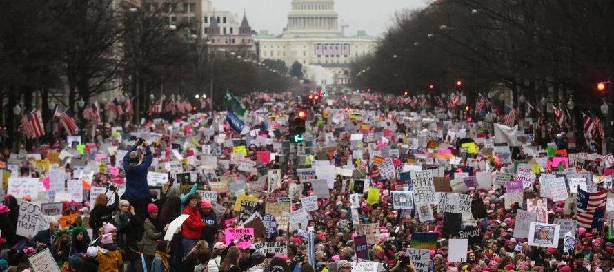 La jornada estuvo motivada en parte por las manifestaciones a favor de los derechos de los...