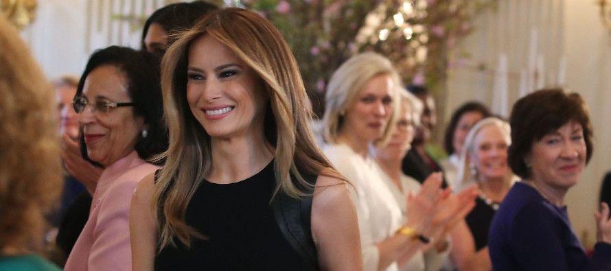 Estas cifras contrastan con las de su marido, el presidente más impopular del último medio siglo...
