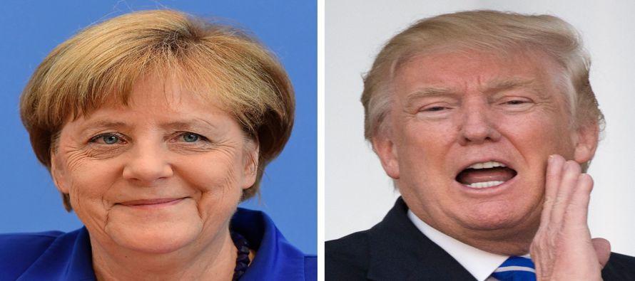 Es difícil imaginar a dos líderes más diferentes, en estilo o contenido, que Angela Merkel, la...