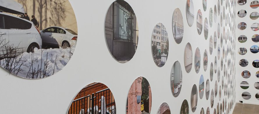 """Hasta el próximo 4 de junio, """"Imagine Moscow: Architecture, Propaganda, Revolution""""..."""