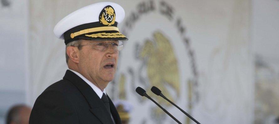 El almirante Soberón Sanz adelantó que se tiene estimado que para 2035, la Armada cuente con 31...