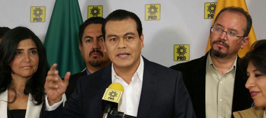 """Barrales afirmó que es este es un """"cierre de filas"""" en el Estado de México"""", así..."""
