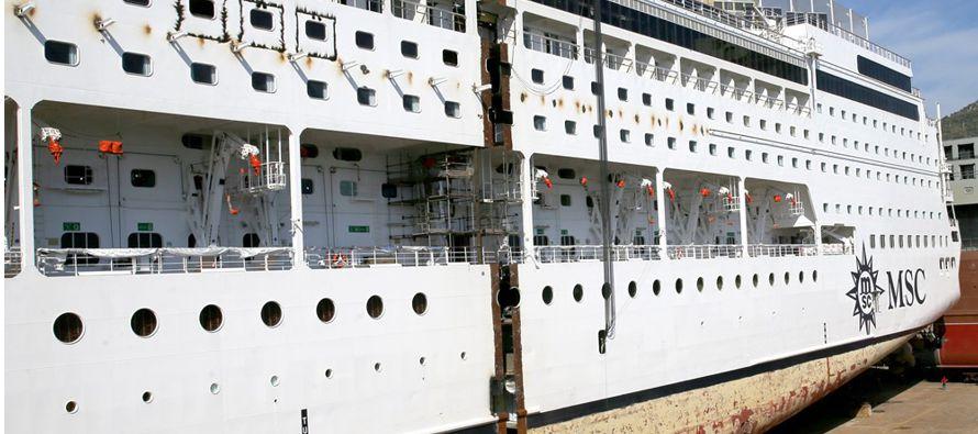 """""""Parte de los viajes no van a parar en puertos de Corea del Sur, sino que van a pasar el día..."""