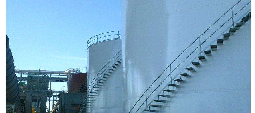 Durante la presentación del Proyecto de infraestructura de almacenamiento de combustibles líquidos...