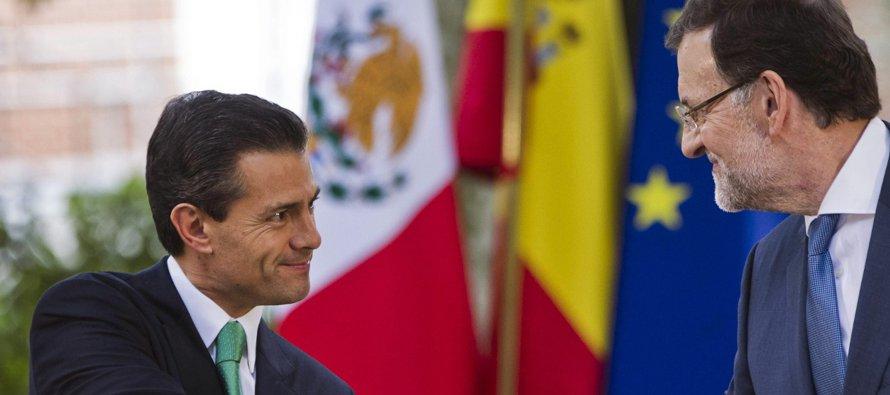 Peña Nieto trasladó este mensaje al ministro español de Asuntos Exteriores, Alfonso Dastis, en la...