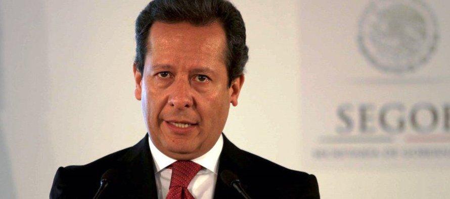 El portavoz del Gobierno, Eduardo Sánchez, afirmó hoy en una conferencia de prensa que le...