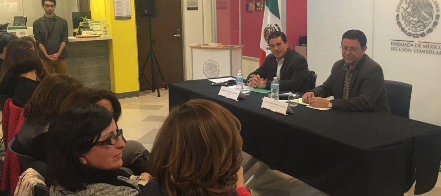 """Gutiérrez recalcó el """"extraordinario"""" crecimiento y desarrollo de la comunidad hispana en..."""