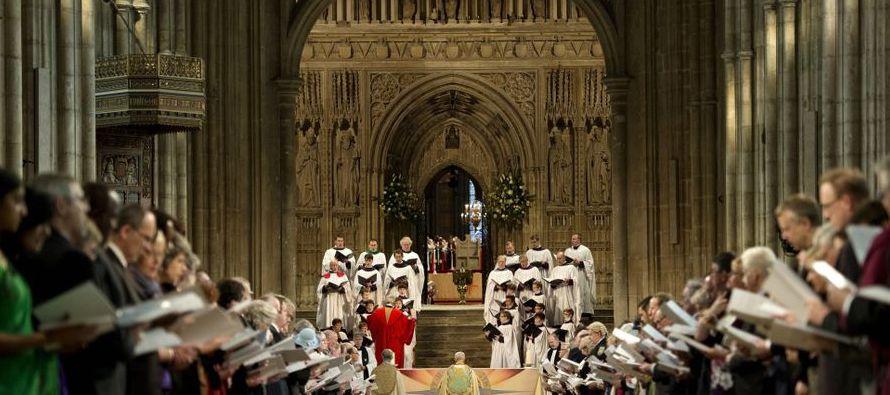 La comisión presentó los datos de abusos en la iglesia anglicana más de un mes después de que...