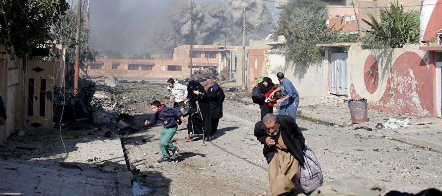"""La presidenta del consejo de la comarca de Mosul, Basma Mohamed Basim, dijo a Efe que """"entre..."""