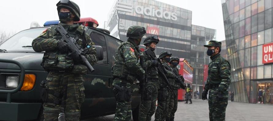 HRW destacó que la lucha antiterrorista de China, principalmente en la región de Xinjiang, foco de...