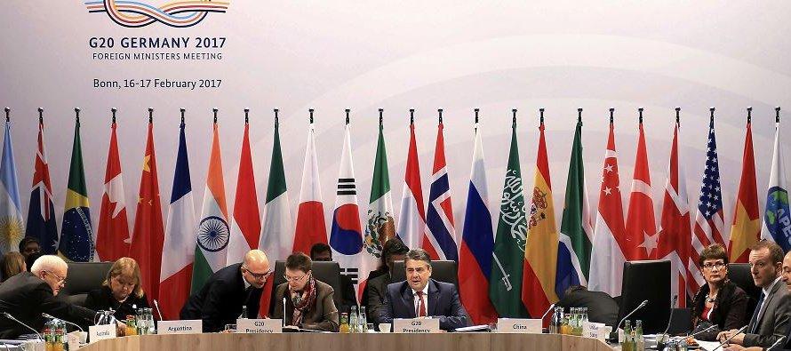 En julio de 2016 en Chengdu, China, el G20 emitió una firme declaración a favor del libre comercio...
