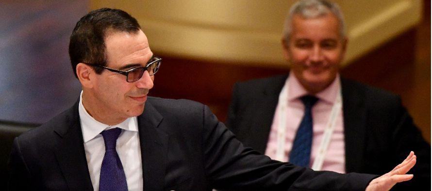 El secretario del Tesoro estadounidense dijo también que los acuerdos bilaterales tienen un espacio...