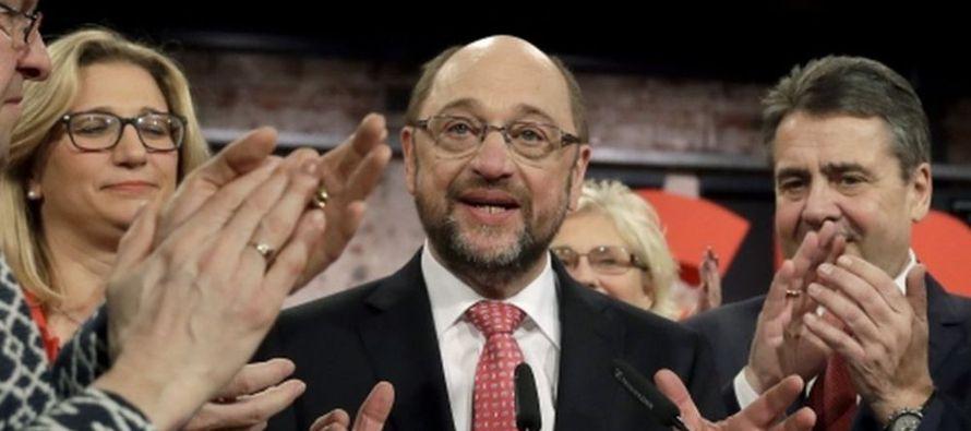 El expresidente del Parlamento Europeo Martin Schulz fue elegido hoy nuevo presidente del Partido...