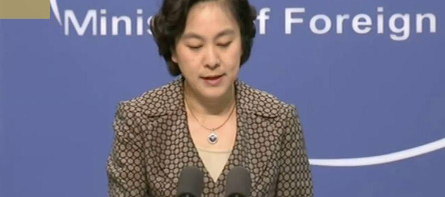 """El Gobierno de China mostró hoy su """"oposición a los esfuerzos de Corea del Norte por avanzar..."""