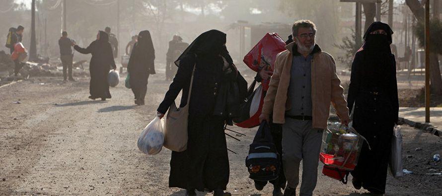 El número de desplazados del oeste de Mosul supera al registrado en la mitad este de la ciudad...