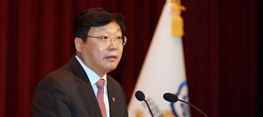 El ministro de Comercio de Corea del Sur dijo el lunes que Seúl presentó una queja en la...