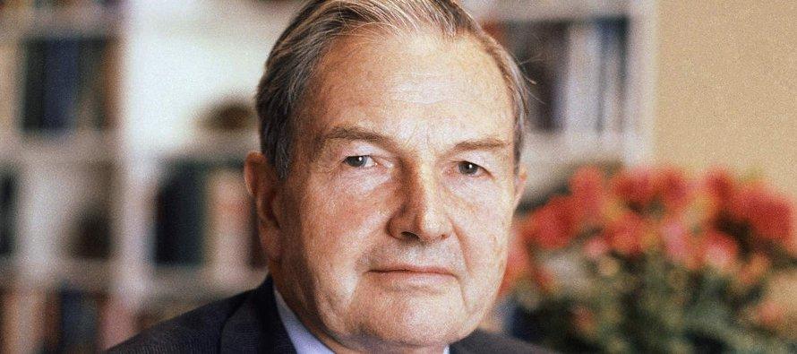 Rockefeller murió mientras dormía en su casa en Pocantico Hills, Nueva York, de acuerdo con su...