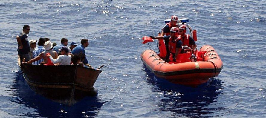 No fue posible obtener información sobre las detenciones de cubanos en el mar durante el mismo...