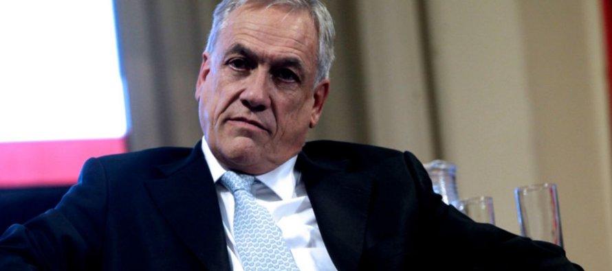 El discurso de aceptación, en el que Piñera ha estado trabajando desde el fin de semana, según...