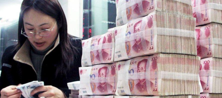 Las empresas chinas, que en buena parte son empresas estatales, alcanzaron una deuda equivalente al...