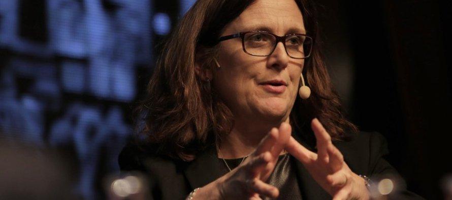 Malmström advierte de los costes del proteccionismo sugerido por Donald Trump