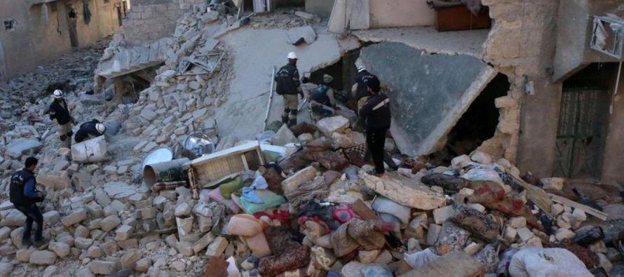 Nueva ola combates en provincia siria de Hama causa unos 40,000 desplazados