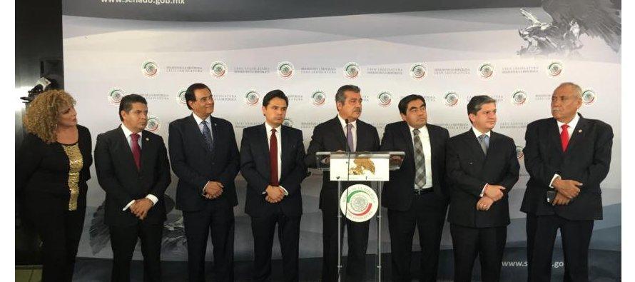 """Sigue crisis en el PRD: senadores dejan la bancada y se van de """"independientes"""""""