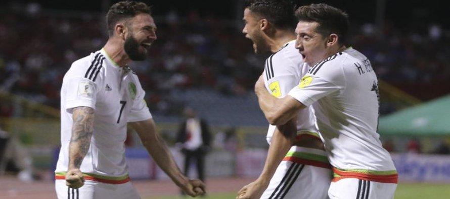 México gana en Trinidad; sigue liderando eliminatoria