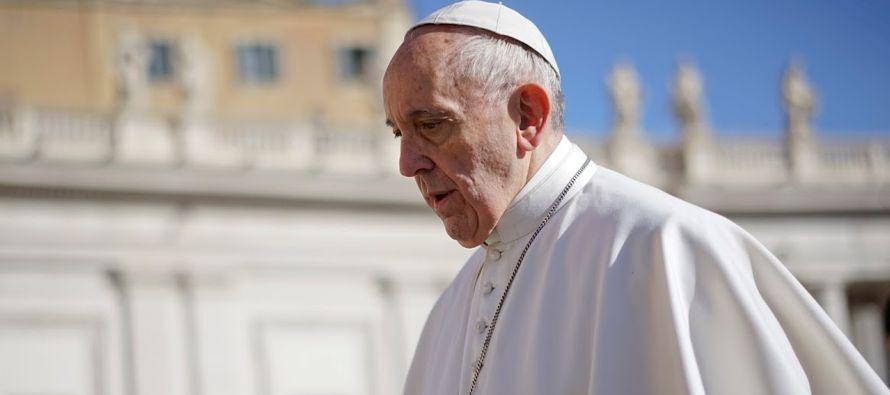 El papa afirma que es imperativo y urgente proteger a la población de Mosul