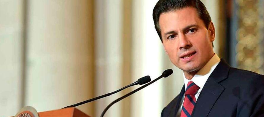 """El discurso oficial –Peña Nieto, sus funcionarios y corifeos– es que México """"no está en..."""
