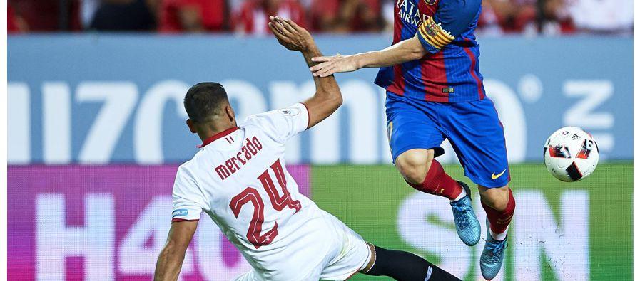 El Barcelona superó el miércoles 3-0 al Sevilla con una ráfaga arrolladora en la que el uruguayo...