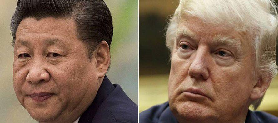 Los líderes de las dos grandes potencias económicas del mundo, el estadounidense Donald Trump y el...
