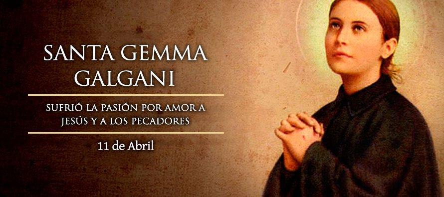 Aurelia murió el 17 de septiembre de 1885 a los 39 años. Gemma tenía 7 y se refugió en la Virgen:...