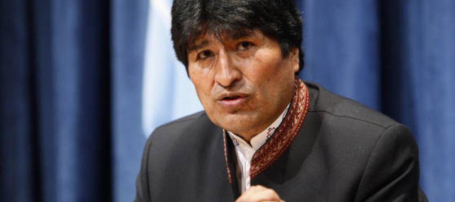 El presidente de Bolivia, Evo Morales, responsabilizó hoy al secretario general de la Organización...