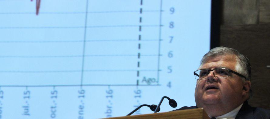 El Banco de México (central) dijo que las sucesivas alzas de tasas llevadas a cabo desde el 2015...