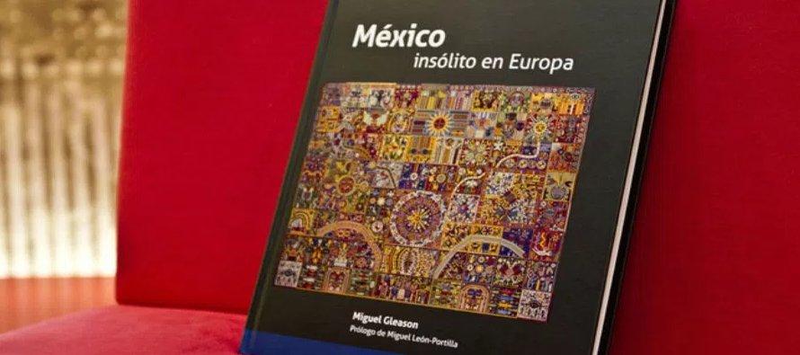El mayor hallazgo de Gleason es el penacho de Cuauhtémoc, que expone el Museo Branly de París, sin...