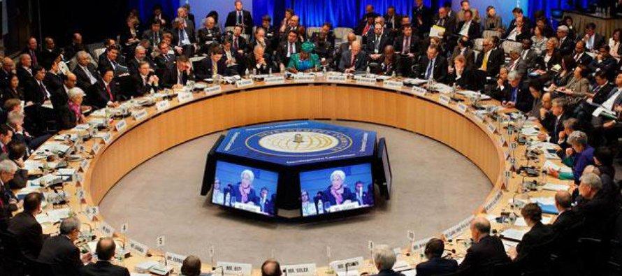 Esta semana, durante la asamblea de primavera del FMI y el Banco Mundial en sus sedes del centro...