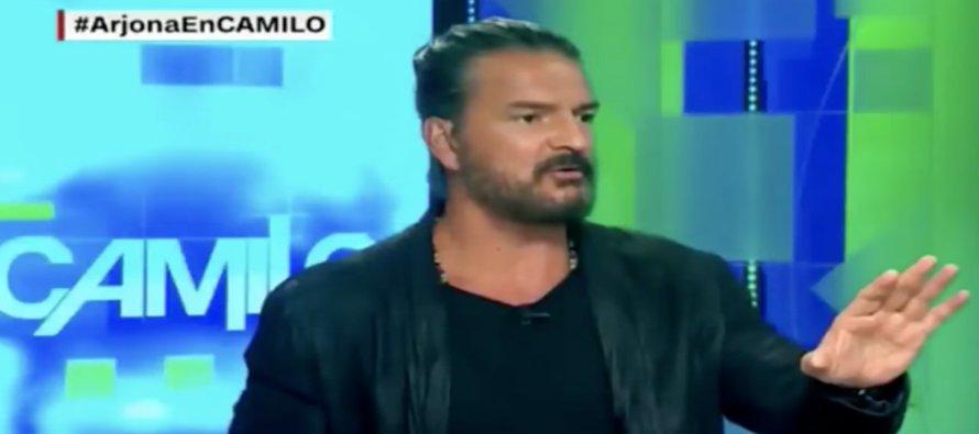 El cantautor Ricardo Arjona concedió este martes una entrevista al reconocido periodista Camilo...