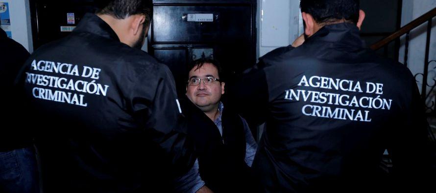 El exgobernador del estado mexicano de Veracruz Javier Duarte, detenido el sábado pasado en...