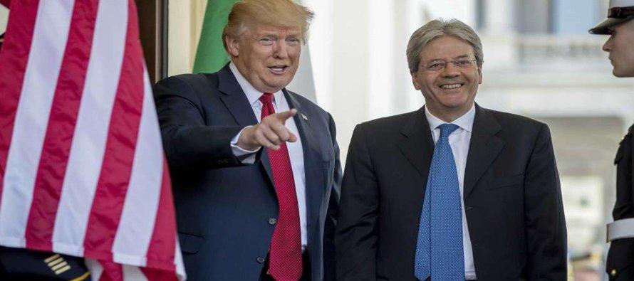 """""""No veo un papel en Libia. Creo que, ahora mismo, Estados Unidos tiene suficientes roles...."""