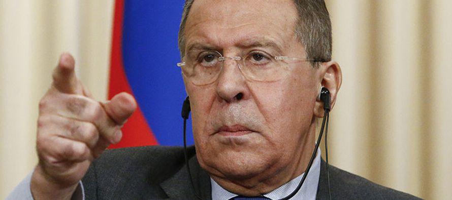 """Según el ministro ruso, un día antes """"las delegaciones occidentales"""" bloquearon una..."""