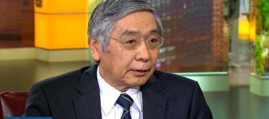Kuroda, antiguo jefe del Banco de Desarrollo de Asia, dijo que mientras que las autoridades...