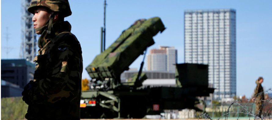 A principios de marzo, Corea del Norte lanzó cuatro misiles, de los cuales tres cayeron en...