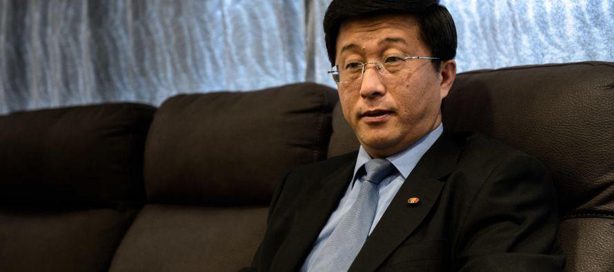 """Aseguró que Pyongyang no ha tenido """"grandes conflictos en el pasado"""" con los países..."""