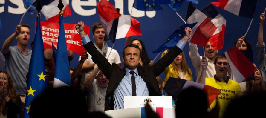 El hecho de que Macron sea tan desconocido entre los franceses solo enfatiza su rara posición en...
