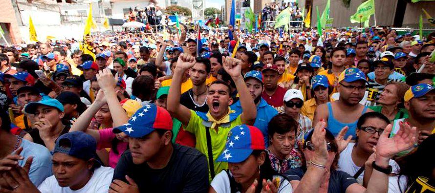 Por el contrario, si las declaraciones de Maduro responden a la habitual retórica vacía populista...